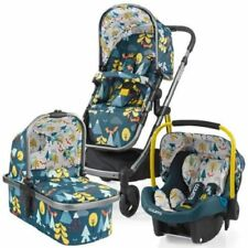 COSATTO WOW TRAVEL SYSTEM PRAM PUSHCHAIR CAR SEAT FOX TALE BRAND NEW BOXED