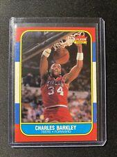 1986-87 Fleer Charles Barkley #7 Rookie