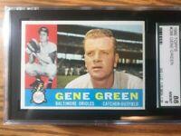 1960 Topps 269 Gene Green SGC 8 NM/MT 88
