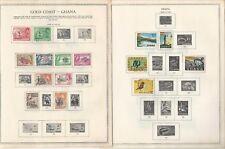 Ghana Collection 1957-1968 on 25 Scott International & Minkus Pages