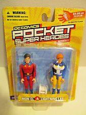 DC Comics Pocket Super Heroes~Series 1: MON-EL & LIGHTNING LAD~NEW in Package