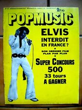 POP MUSIC N° 131 Elvis Presley Jeff Beck Stevie Wonder