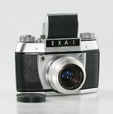 Ihagee Exa 1 35mm SLR Camera with a E.Ludwig Meritar f2.9/50mm Lens (W48)