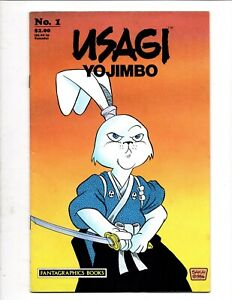USAGI YOJIMBO  # 1 FANTAGRAPHICS BOOKS JULY 1987 STAN SAKAI