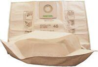 Festool 497539 dust extractor REUSABLE Filter Bag With Zip SC FIS CT CTL CTM 48