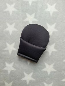 Mothercare Journey Car Seat Cover Pad for Crotch Buckle in Black