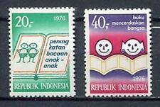 38216) INDONESIA 1976 MNH** Children books 2v