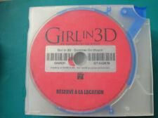 DVD  boitier slim GIRL IN 3D (B37c)