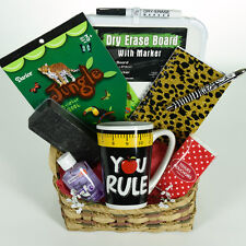 Teacher's Appreciation Gift Basket Dry Erase Board- Jungle Theme Lg.(9 items)