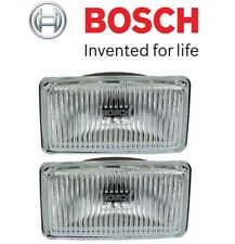 For BMW E12 E21 E28 E30 Fog Light Lens Left & Right Set of 2 140mm OEM BOSCH
