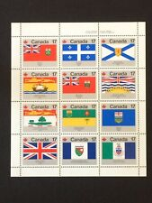 CANADA 1979 Provincial & Territorial Flags MNH #832a (12 stamps)