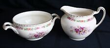 Johnson Bros. Old English Queen's Bouquet Sugar and Creamer Set