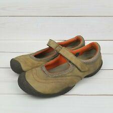 Keen Womens Size 7 Sienna Mary Jane Hook and Loop Walking Hiking Shoes Brown