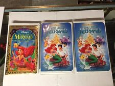 Little Mermaid VHS All 3 Versions Banned Restored And White Label C Description