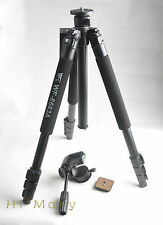 Pro Camcorde camera VCR Spotting Scope metal Tripod WF-6663A 3 way head + bag