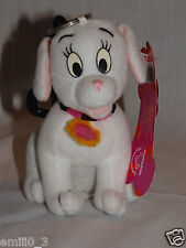 """NEW WITH TAGS DISNEY 102  DALMATIANS I WIGGLE PULL COLLAR CHARM 4"""" KEYCHAIN"""