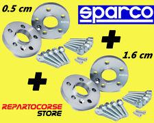 DISTANZIALI SPARCO 5 + 16 mm - CON BULLONI - ALFA ROMEO 145 - 146 - 155 - 164