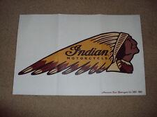 Original Indian Motorcycle Dealer Promotional Poster