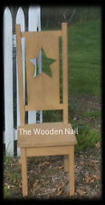 Primitive Chair with star Pattern WN101