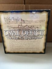 Oval Office The Race To Be President Board Game, new sealed
