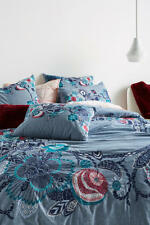 Anthropologie Inouitoosh Embroidered Duvet Queen