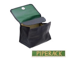 NEW Peterson Avoca Box Pipe Tobacco Pouch Leather Boxed Navy