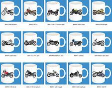 300ml Keramik Becher mit Motiv: BMW Motorrad Modelle Kaffee Tasse Pott 11oz Bike