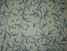 WILLIAM MORRIS CURTAIN FABRIC Scroll 3.8 METRES PARCHMENT/MINERAL  ARCHIVE COLL