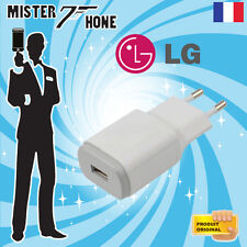 TRAVEL ADAPTER UNIVERSAL ORIGINAL LG 1,8A MCS-04ER3 G PAD X 8.0 WINE SMART