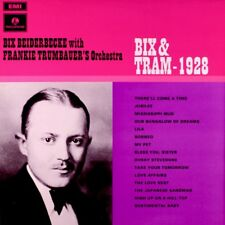 BIX BEIDERBECKE with FRANKIE TRUMBAUERs Orchestra BIX & TRAM - 1928 Vinyl LP TOP