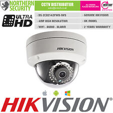 HIKVISION ds-2cd2142fwd-iws 2.8 mm 4MP 2MP 1080P WIFI AUDIO ONVIF WDR Telecamera IP