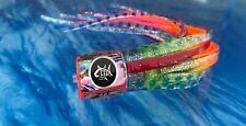 Big Game Saltwater Leemy Lures 'Zit' pink/blue 8' Mahi Tuna Wahoo Marlin