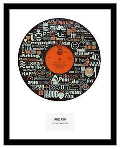 MUNGO JERRY  - MEMORABILIA - VINYL RECORD ART - Limited Edition - Ideal Gift