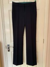 BNWT M&S Autograph size 10 L smart women's navy trousers