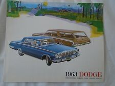 Dodge range brochure 1963 Export market large format printed in UK