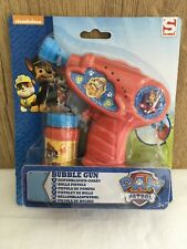 PAW PATROL BUBBLE GUN, Super Fun For The Kids!