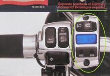 62949-02 Orologio digitale Harley Davidson per comandi manubrio