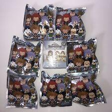 NEW Disney Kingdom Hearts Figural Keyring Blind Bag Lot of 7 & Funko Vinyl Mini