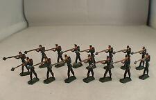 CBG France Lot de 15 soldats prussiens rond de bosse 3 cm Rare