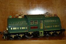 LIONEL #381E (11-2105) TINPLATE BILD-A-LOCO W/WORKING LIGHTS & PENTAGRAPHS USED