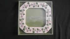 "Alco Industries Floral Pattern Ceramic Octagon Picture Frame 6"" x 6"""
