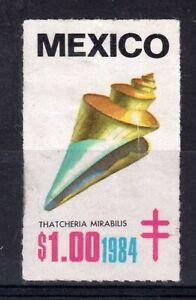 MEXICO = 1984 Anti TB $1 Cinderella stamp. Unused. No Gum (a)
