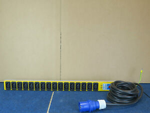 Olson 6A/16 - 5 Metre Lead BS4343 Plug 16 Socket Power Distribution Unit