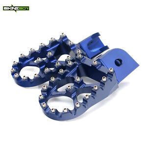 For BMW F650GS 08-12 F700GS F800GS R1200GS Wide Fat Footpegs Footrests New CNC