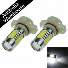 Pair White 5 COB LED H16 3.5W 9009 5202 5201 PSX24W Non-polar Bulb Fog Light