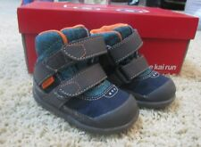 SEE KAI RUN NEW Atlas W/P Baby Boys Size 4 US 20 EU Blue Hiking Boots Shoes NIB