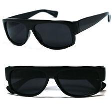 Gangster Black Super Dark Easy E Cholo Sunglasses LOC Lowrider OG Style UV400