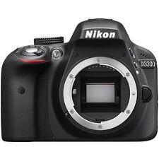 NEW US Version Black Nikon D3300 24.2 Mp DX-Format Digital SLR Camera Body