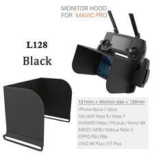5.5 inch Phone Tablet Monitor Sun Hood Sunshade For DJI Spark/Mavic Drone Black