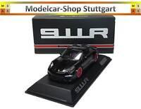 Porsche 911R schwarz / roter Streifen Limitiert 991 Stück Spark 1:43 WAX02020054